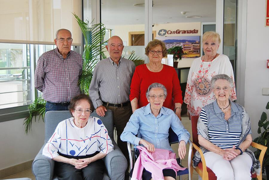 complejo residencial para personas mayores