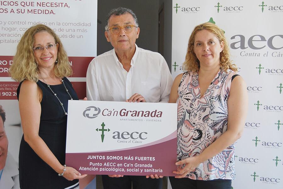 Ca'n Granada punto de atención AECC Baleares